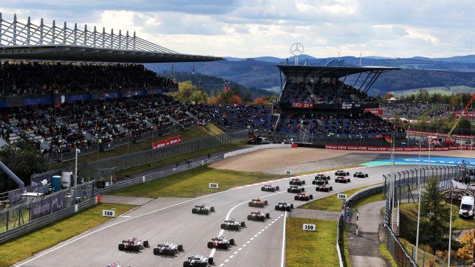 F1, GP Eifel 2020: la partenza