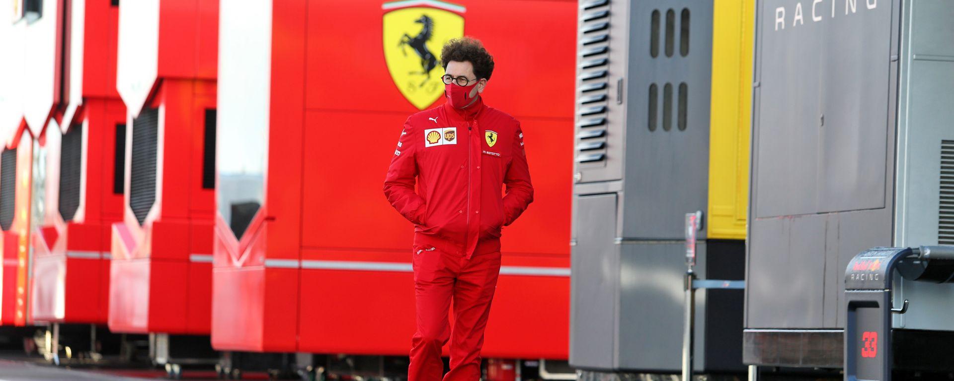 F1, GP Eifel 2020: Mattia Binotto (Ferrari)