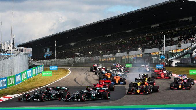 F1 GP Eifel 2020, Nurburgring: la partenza della gara