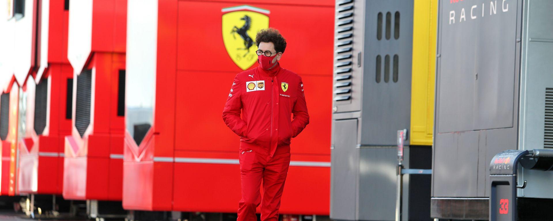 F1 GP Eifel 2020, Nurburgring: Mattia Binotto (Scuderia Ferrari)