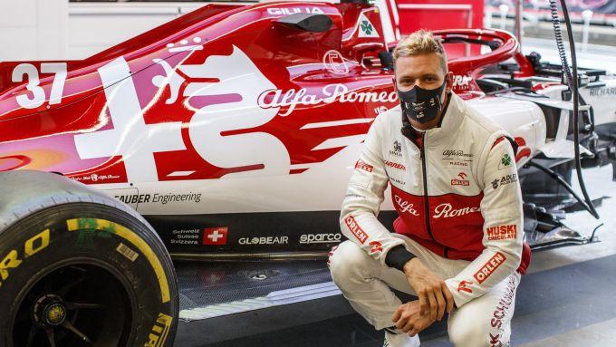 F1 GP Eifel 2020, Nurburgring: Mick Schumacher (Alfa Romeo Racing)