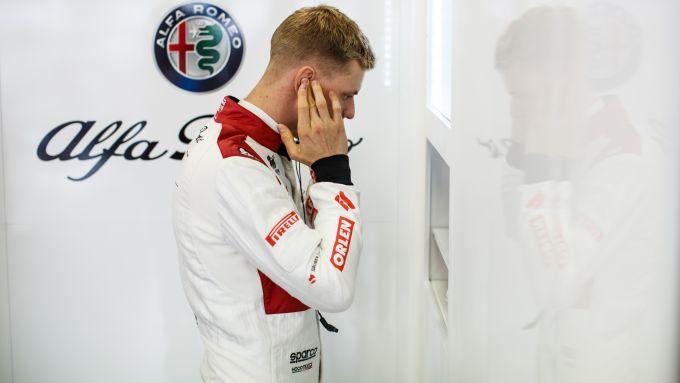 F1 GP Eifel 2020, Nurburgring: Mick Schumacher si prepara per scendere in pista con l'Alfa Romeo