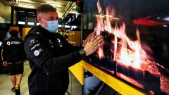 F1, GP Eisel 2020: forme alternative di riscaldamento alla Renault