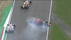 F1 GP Emilia Romagna 2020, Imola: Alex Albon (Red Bull) si gira