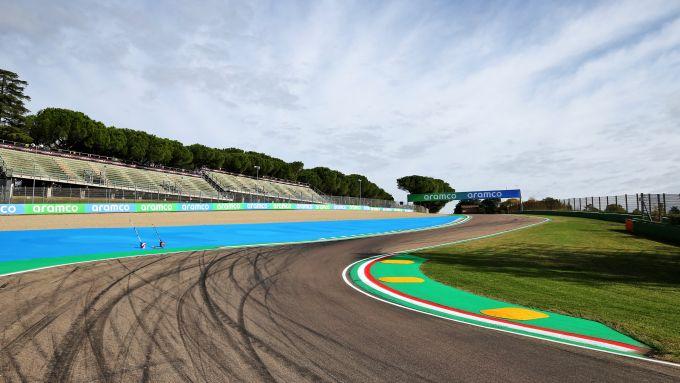 F1 GP Emilia Romagna 2020, Imola: Atmosfera dal circuito