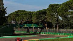F1 GP Emilia Romagna 2020, Imola: Charles Leclerc (Scuderia Ferrari) durante le qualifiche