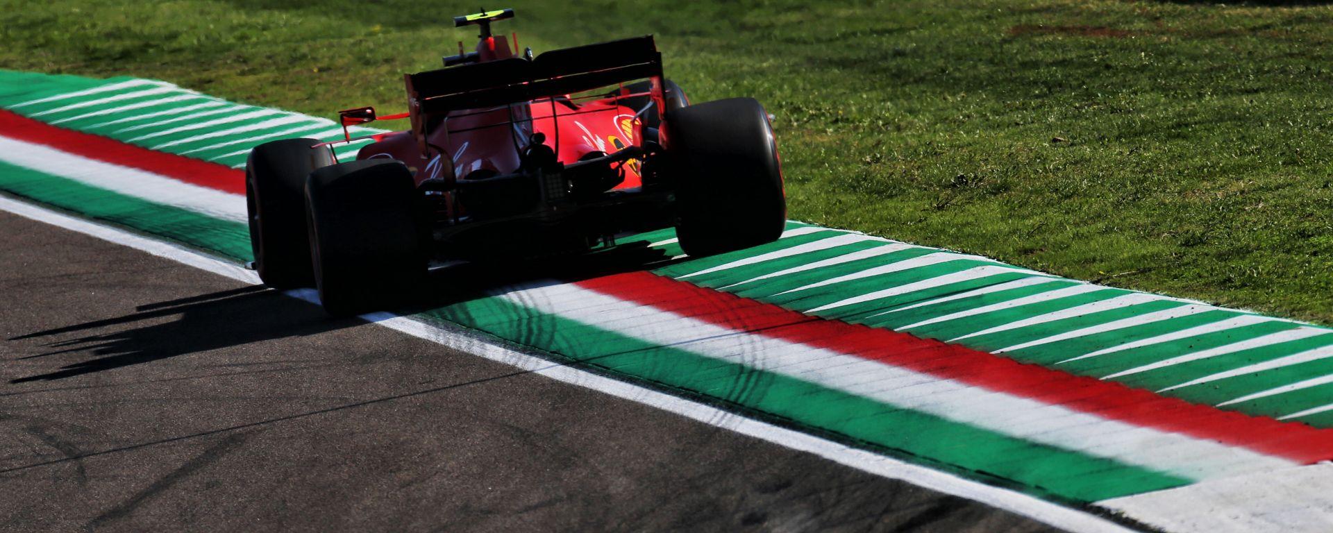 F1 GP Emilia Romagna 2020, Imola: Charles Leclerc (Scuderia Ferrari)