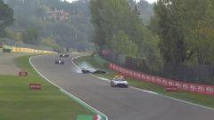 F1 GP Emilia Romagna 2020, Imola: l'incidente di George Rusell (Williams) dietro alla Safety Car