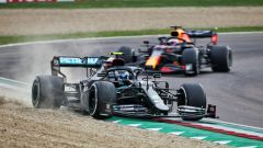 F1 GP Emilia Romagna 2020, Imola: Valtteri Bottas (Mercedes) e Max Verstappen (Red Bull)