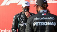 F1, GP Emilia Romagna 2020: Valtteri Bottas e Lewis Hamilton (Mercedes AMG Petronas)