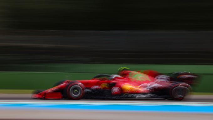 F1 GP Emilia Romagna 2021, Imola: Carlos Sainz Jr (Scuderia Ferrari)