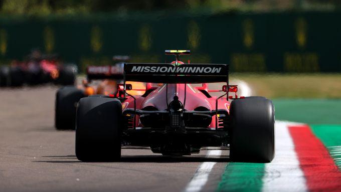 F1 GP Emilia Romagna 2021, Imola: Carlos Sainz (Scuderia Ferrari)
