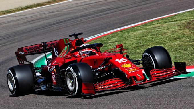 F1 GP Emilia Romagna 2021, Imola: Charles Leclerc (Scuderia Ferrari)