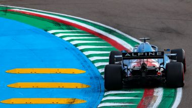 F1 GP Emilia Romagna 2021, Imola: Fernando Alonso (Alpine Renault F1 Team)