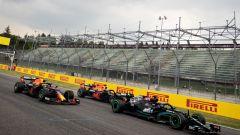F1 GP Emilia Romagna 2021, Imola: La partenza della gara