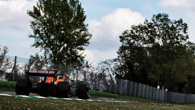 F1 GP Emilia Romagna 2021, Imola: Lando Norris (McLaren F1 Team)