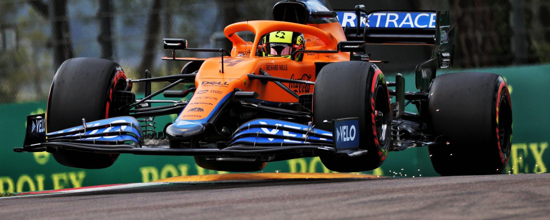 F1 GP Emilia Romagna 2021, Imola: Lando Norris (McLaren)