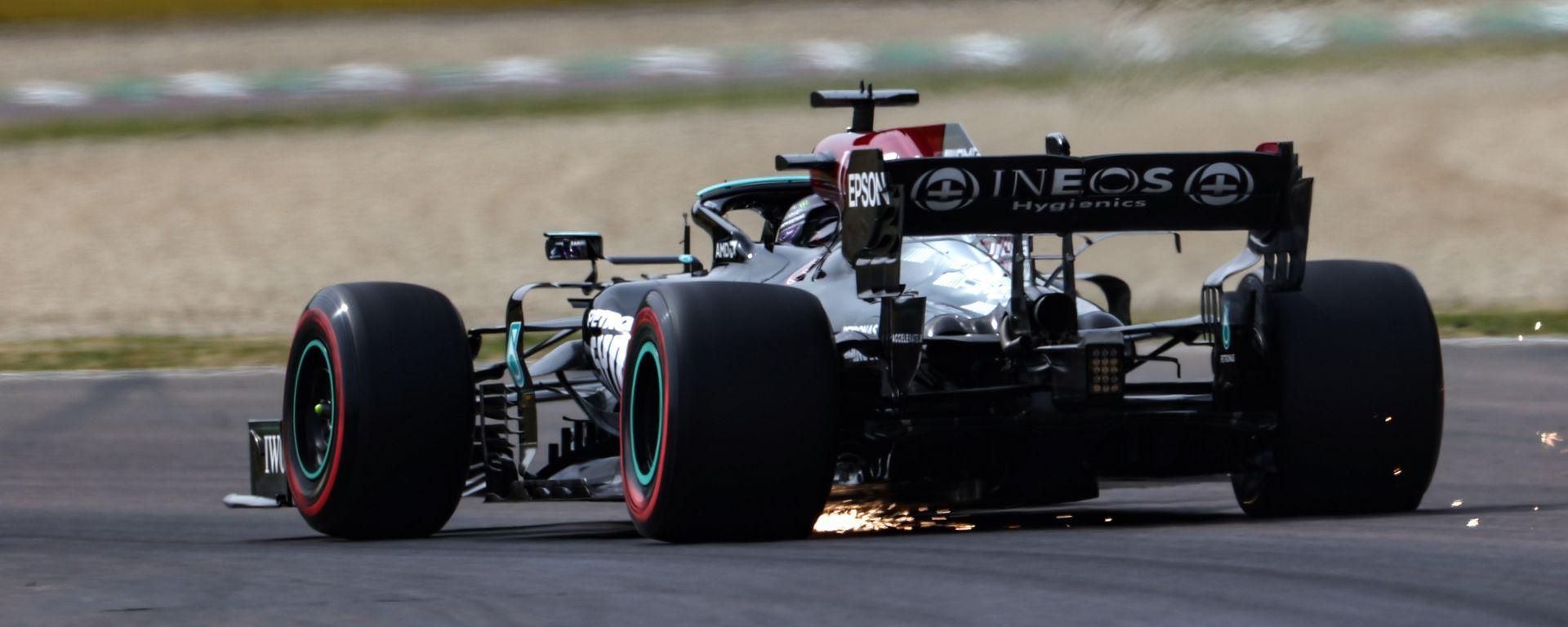 F1 GP Emilia Romagna 2021, Imola: Lewis Hamilton (Mercedes AMG F1)
