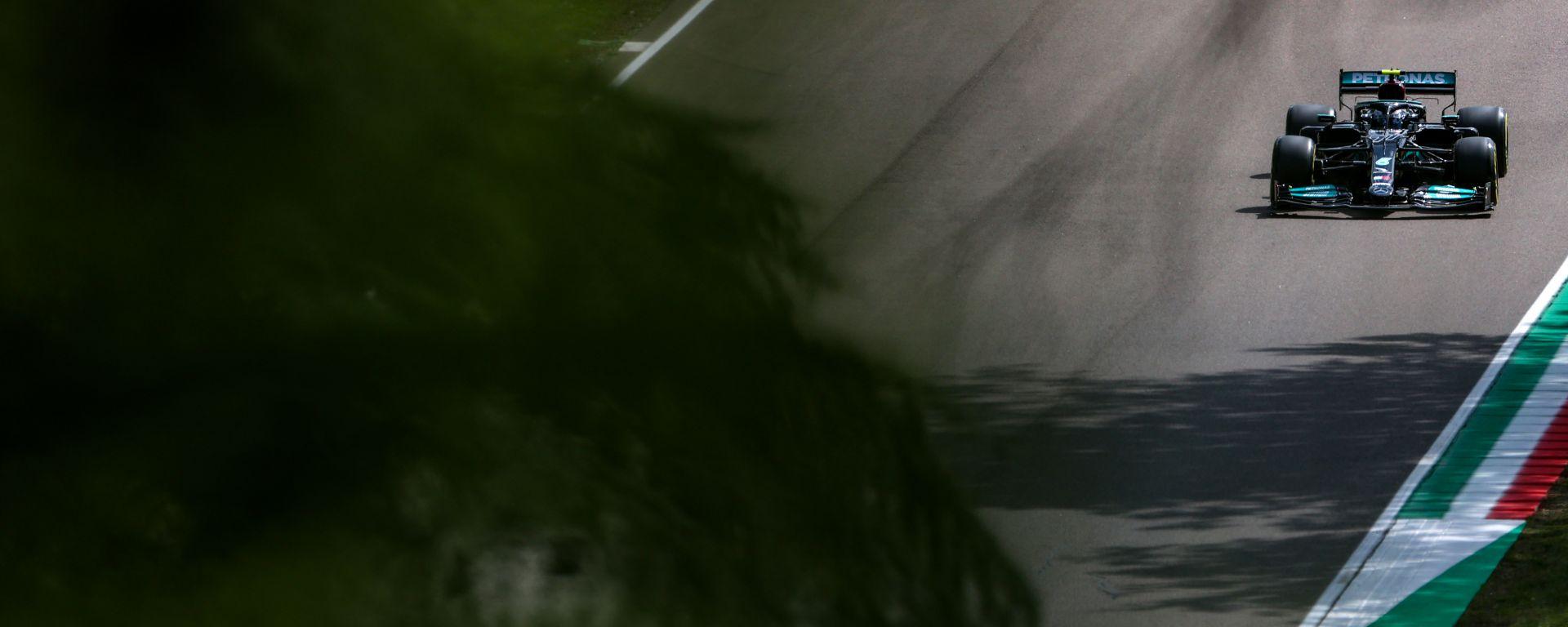 F1 GP Emilia Romagna 2021, Imola: Valtteri Bottas (Mercedes AMG F1)