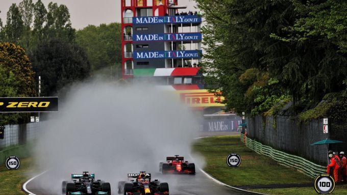 F1, GP Emilia Romagna 2021: la partenza della gara