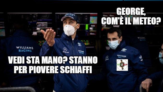 F1, GP Emilia Romagna 2021: le previsioni di George