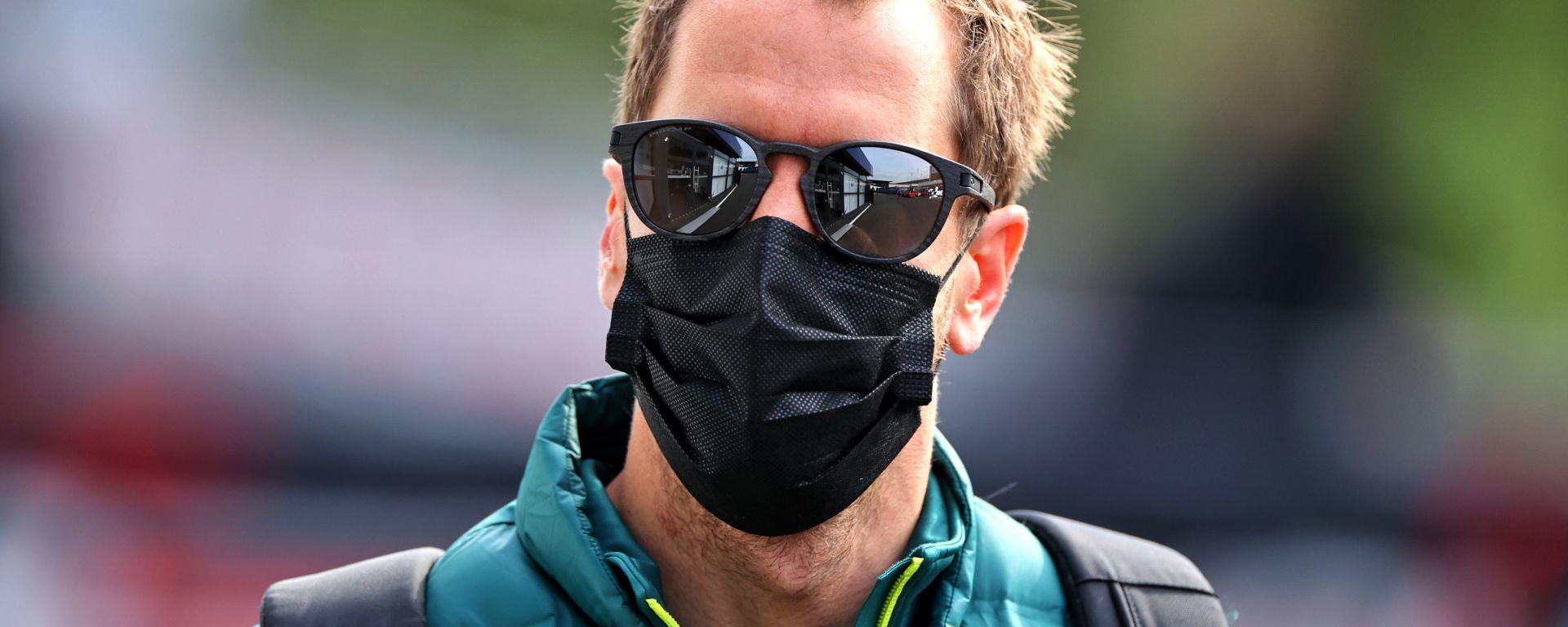 F1, GP Emilia Romagna 2021: Sebastian Vettel (Aston Martin)