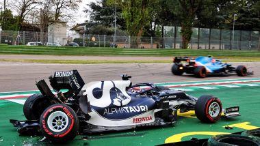F1, GP Emilia Romagna 2021: Yuki Tsunoda (AlphaTauri)