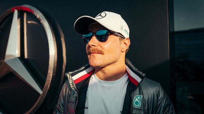 F1, GP Emilia Romagna: Bottas col baffo alla Keke Rosberg
