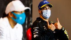 F1, GP Emilia Romagna: Daniel Ricciardo tutto felice dopo la sua risposta che ha creato imbarazzi