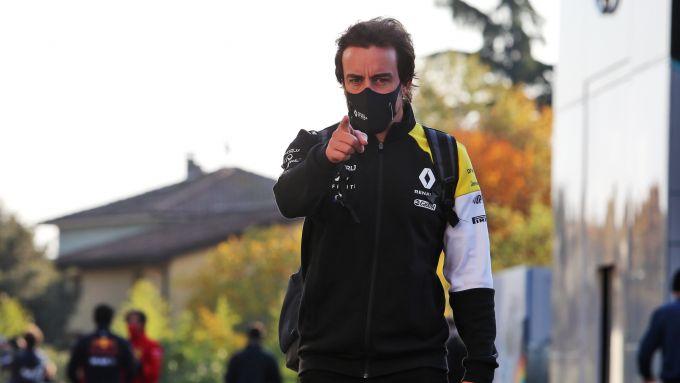 F1, GP Emilia Romagna: Fernando Alonso punta il dito verso il prossimo bersaglio di bienizzazione