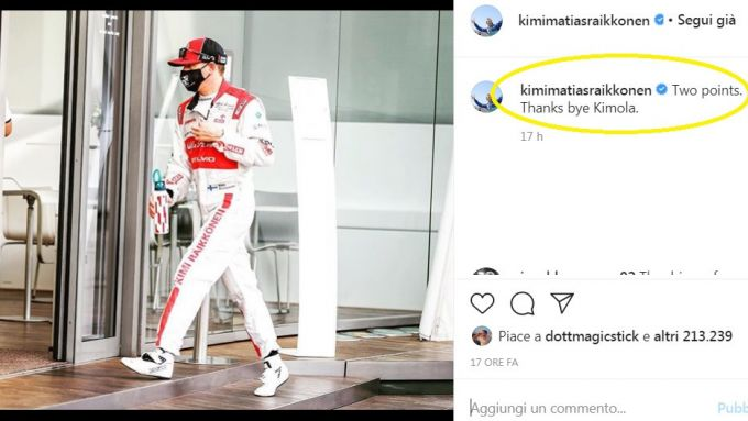 F1, GP Emilia Romagna: Kimola