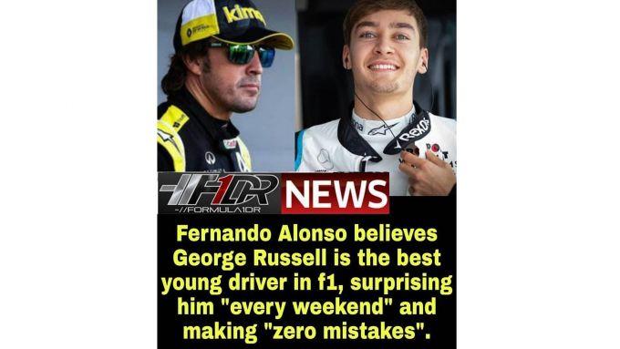 F1, GP Emilia Romagna: la devastante previsione di Alonso su Russell