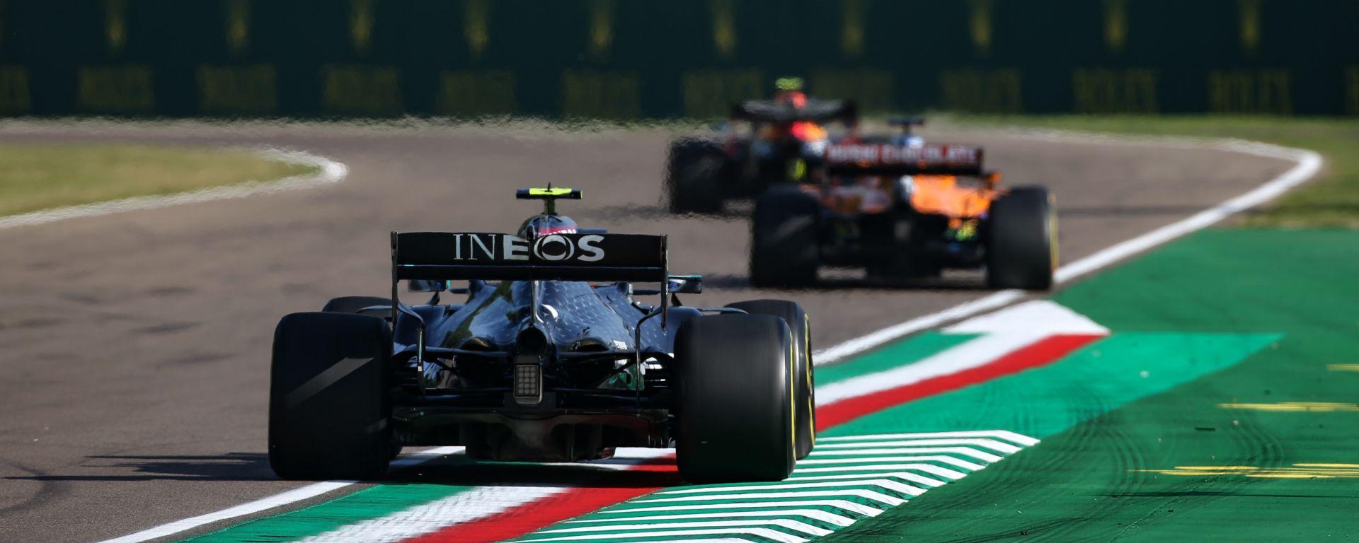F1, GP Emilia Romagna: traffico in pista