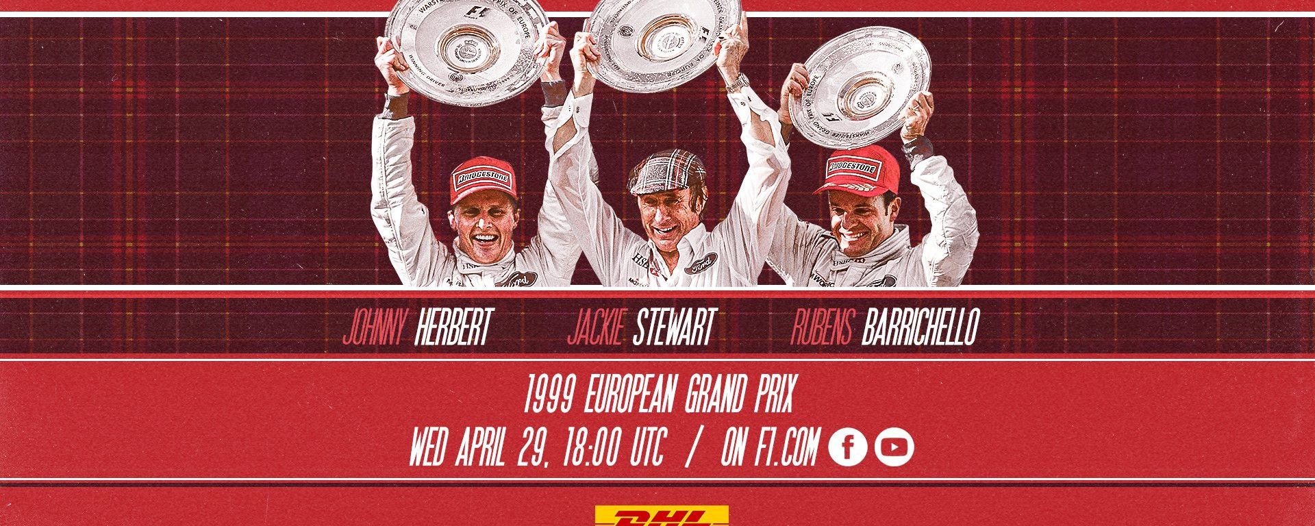 F1 GP Europa 1999: la locandina della gara su Youtube