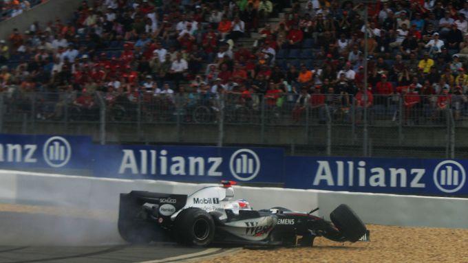 F1, GP Europa 2005: Kimi Raikkonen (McLaren)