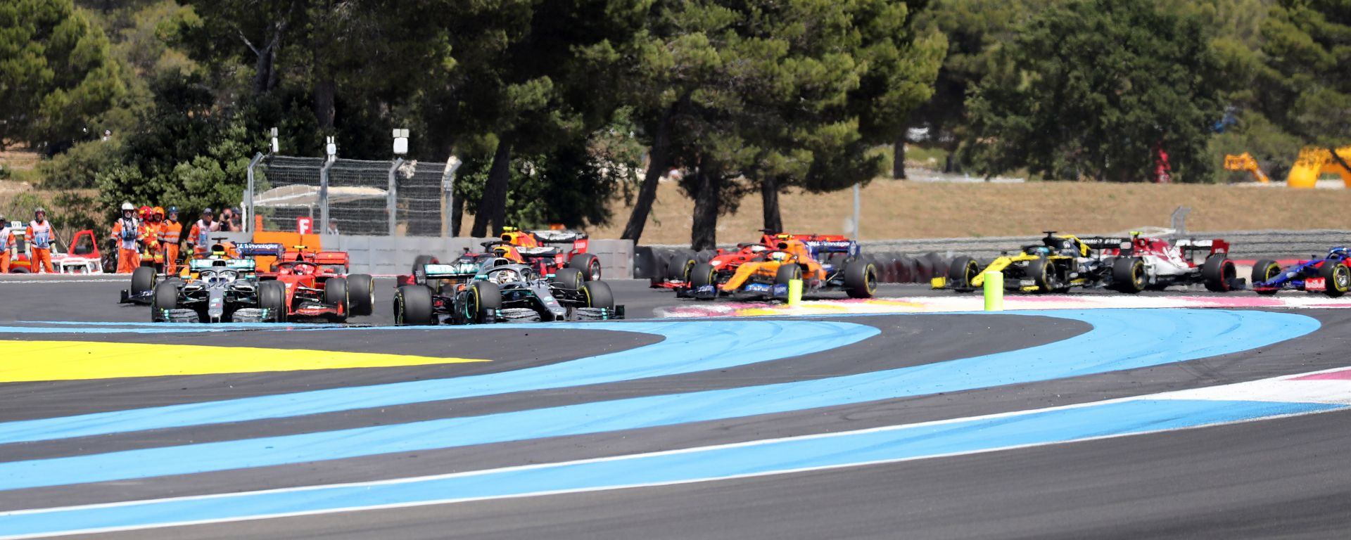 F1 GP Francia 2019, la partenza della gara