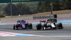 F1 GP Francia 2019, Le Castellet: Alex Albon (Toro Rosso) e Antonio Giovinazzi (Alfa Romeo)