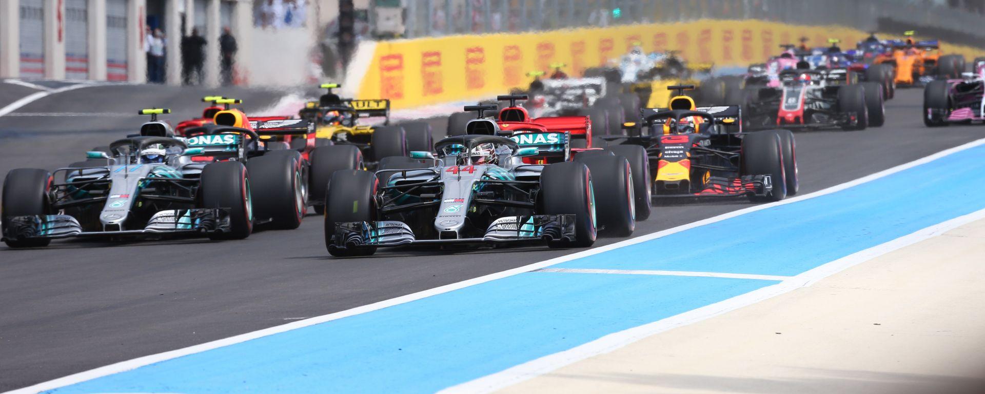 F1 GP Francia 2019, Le Castellet: gli orari tv di Sky e TV8