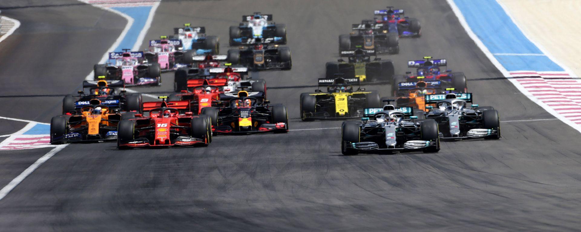 F1 GP Francia 2019, Le Castellet: la partenza
