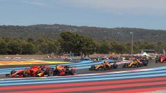 F1 GP Francia 2019, Leclerc e Verstappen appaiati al via