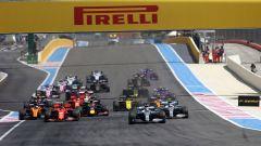 F1 GP Francia 2019, Paul Ricard, Le Castellet: partenza