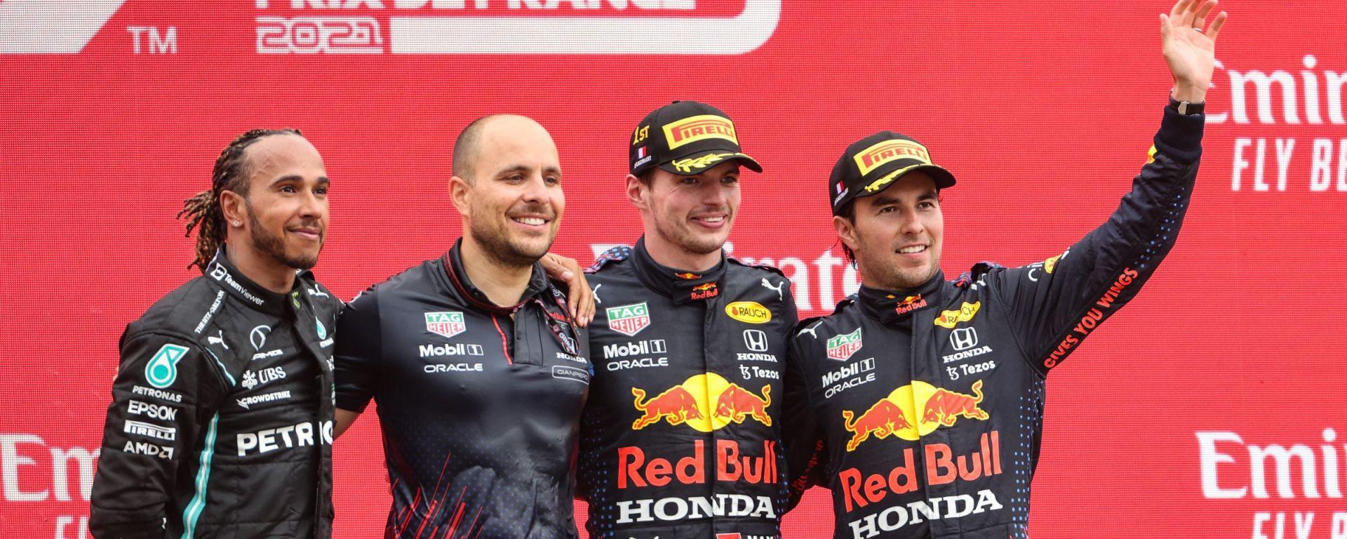 F1, GP Francia 2021: il podio