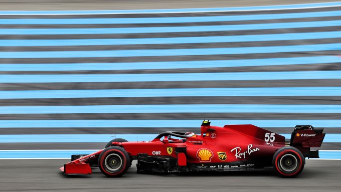 F1 GP Francia 2021, Le Castellet: Carlos Sainz (Scuderia Ferrari)