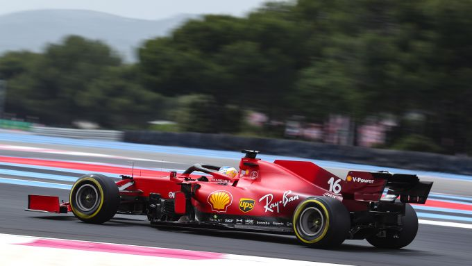 F1 GP Francia 2021, Le Castellet: Charles Leclerc (Scuderia Ferrari)