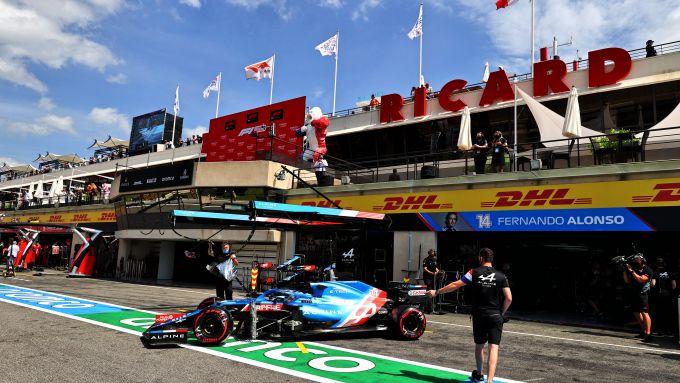 F1 GP Francia 2021, Le Castellet: Fernando Alonso (Alpine F1 Team)