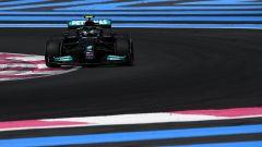 F1 GP Francia 2021, PL1: Bottas-Hamilton, Mercedes ok!