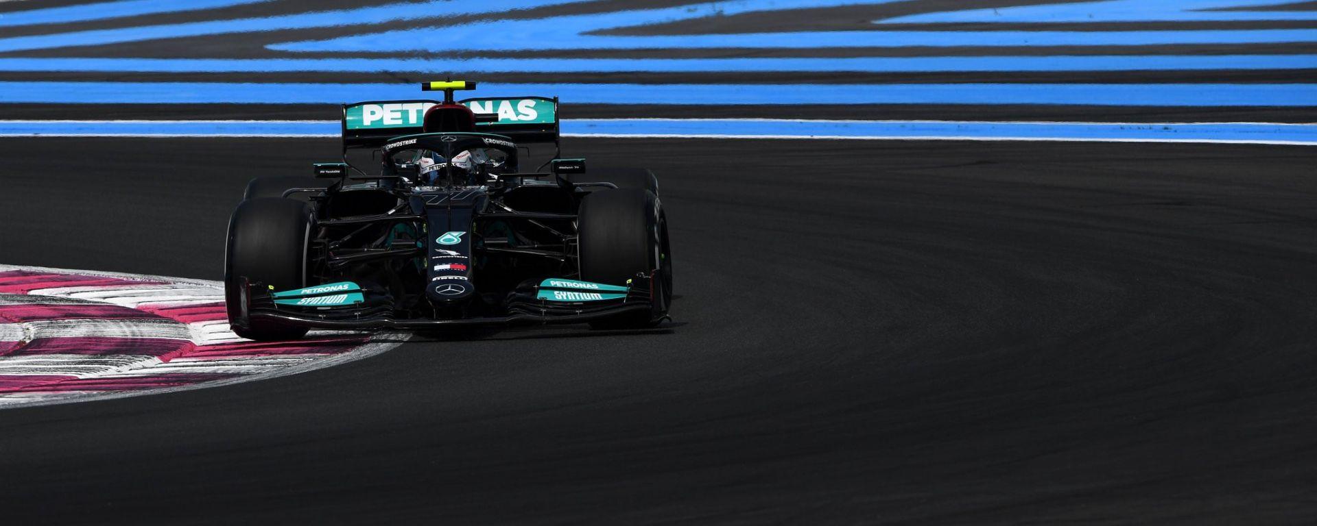 F1 GP Francia 2021, Le Castellet: Valtteri Bottas (Mercedes AMG F1)    Foto: Twitter @F1