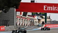 F1, GP Francia 2021: Lewis Hamilton e Valtteri Bottas (Mercedes)