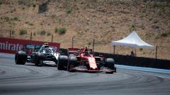 F1 GP Francia, analisi del vantaggio Mercedes su Ferrari - Immagine: 2