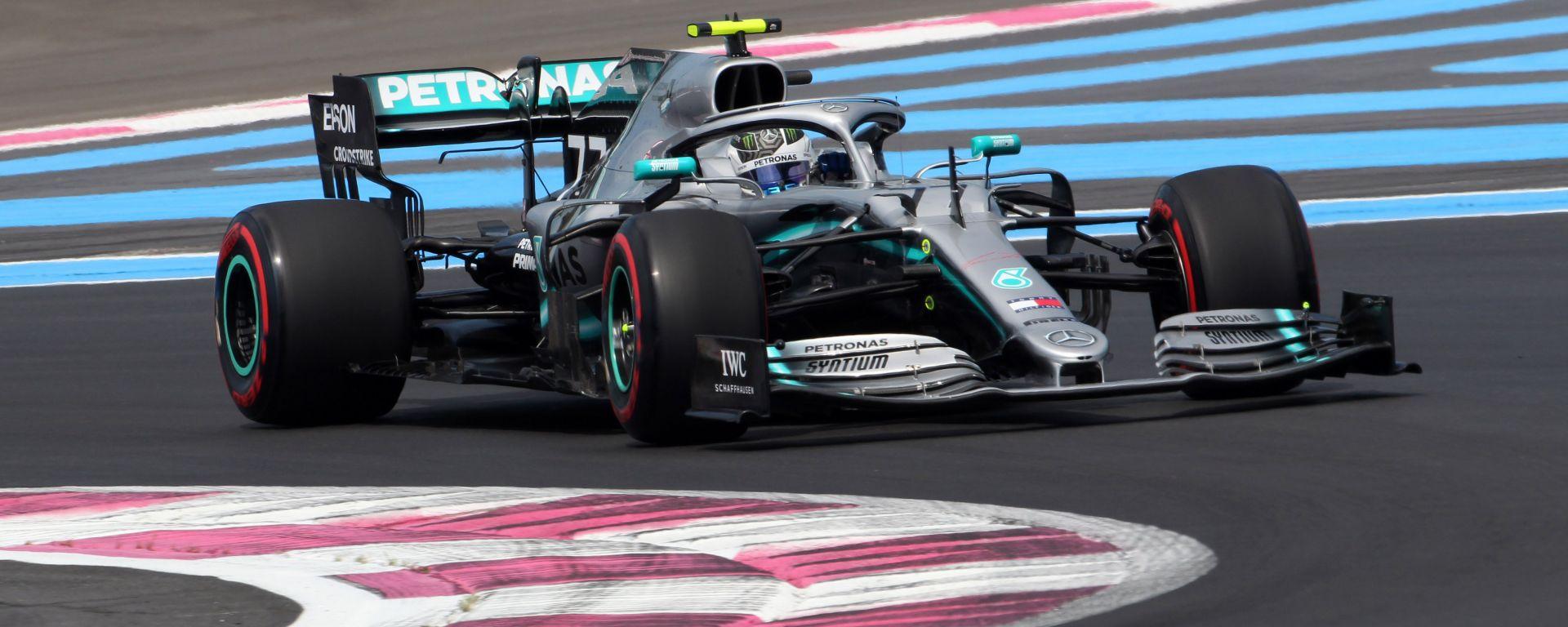 F1 GP Francia 2019 – PL2: Bottas vola, Hamilton sotto investigazione